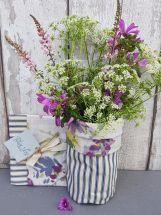 Flora Fabric Vase