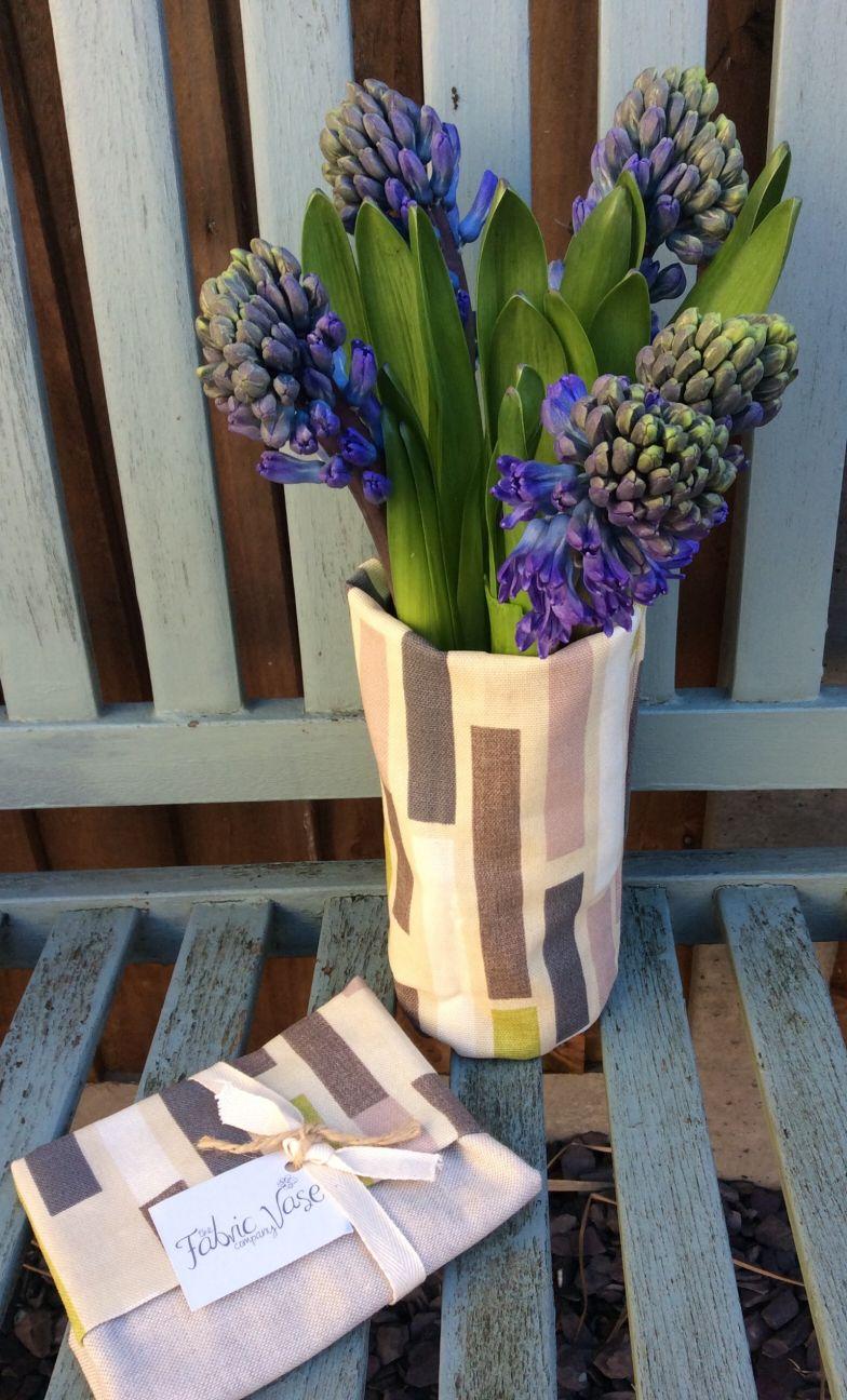 """Medium Fabric Vase""""Anni"""""""