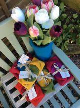 Woolly Vases